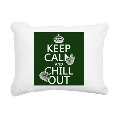 Keep Calm and Chill Out (Sloths) Rectangular Canva