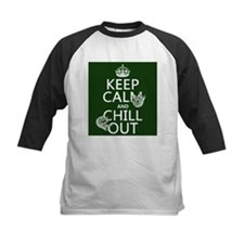 Keep Calm and Chill Out (Sloths) Baseball Jersey