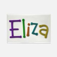 Eliza Play Clay Rectangle Magnet