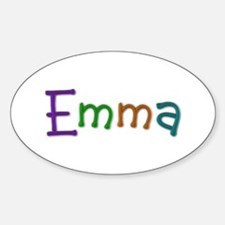 Emma Play Clay Oval Decal
