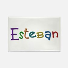 Esteban Play Clay Rectangle Magnet