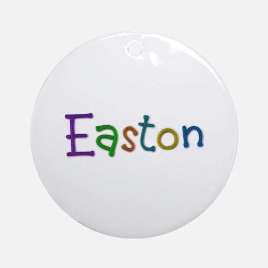Easton Play Clay Round Ornament