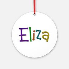 Eliza Play Clay Round Ornament