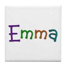 Emma Play Clay Tile Coaster