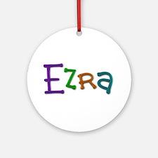 Ezra Play Clay Round Ornament