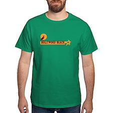 Hollywood Beach - Beach Design. T-Shirt