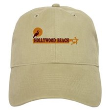 Hollywood Beach - Beach Design. Baseball Cap