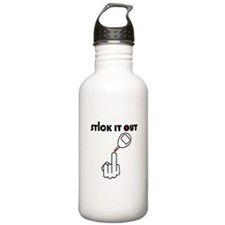 Stick It Out Water Bottle