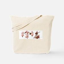 Pig Opera Tote Bag