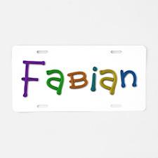 Fabian Play Clay Aluminum License Plate