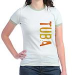 Tuba Stamp Jr. Ringer T-Shirt