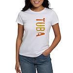 Tuba Stamp Women's T-Shirt