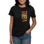 Tuba Stamp Women's Dark T-Shirt