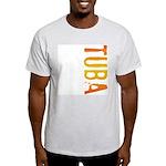 Tuba Stamp Ash Grey T-Shirt