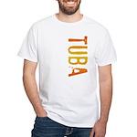 Tuba Stamp White T-Shirt