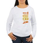 Tuba Stamp Women's Long Sleeve T-Shirt