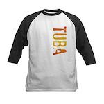 Tuba Stamp Kids Baseball Jersey