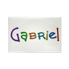 Gabriel Play Clay Rectangle Magnet