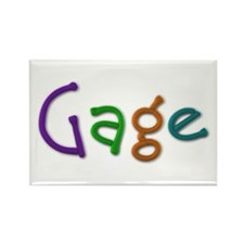 Gage Play Clay Rectangle Magnet