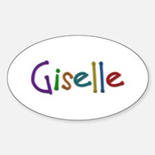 Giselle Play Clay Oval Decal