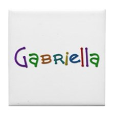 Gabriella Play Clay Tile Coaster