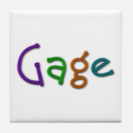 Gage Play Clay Tile Coaster
