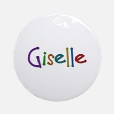 Giselle Play Clay Round Ornament