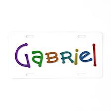 Gabriel Play Clay Aluminum License Plate