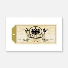 Gold Class of 2014 Tag Rectangle Car Magnet