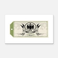 Green Class of 2014 Tag Rectangle Car Magnet