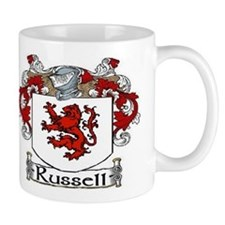 Russell Coat of Arms Mug