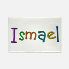 Ismael Play Clay Rectangle Magnet