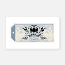 Blue Class of 2014 Tag Rectangle Car Magnet