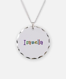 Isabella Play Clay Necklace Circle Charm