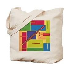 Bassoon Colorblocks Tote Bag