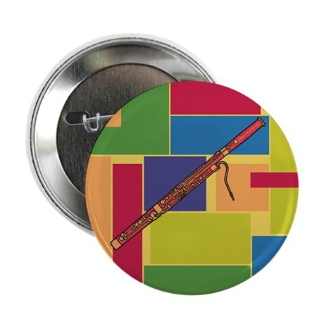 """Bassoon Colorblocks 2.25"""" Button (10 pack)"""