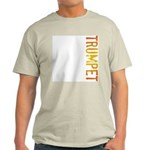 Trumpet Stamp Ash Grey T-Shirt