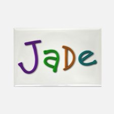 Jade Play Clay Rectangle Magnet