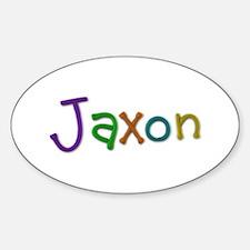 Jaxon Play Clay Oval Decal