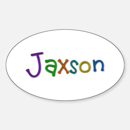 Jaxson Play Clay Oval Decal