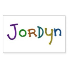 Jordyn Play Clay Rectangle Decal