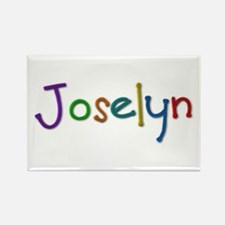 Joselyn Play Clay Rectangle Magnet