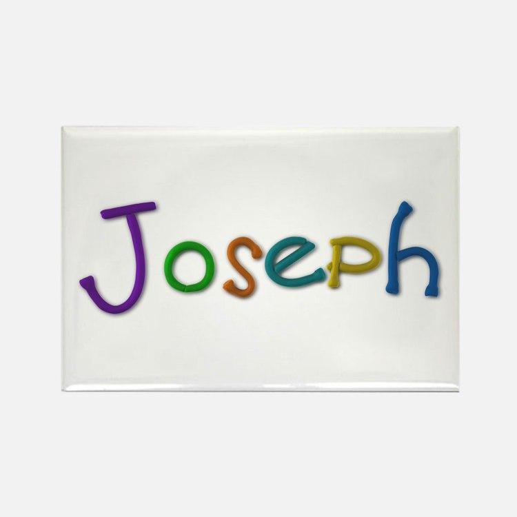 Joseph Play Clay Rectangle Magnet