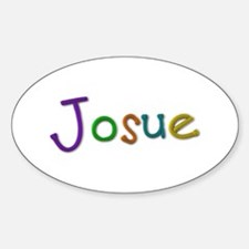 Josue Play Clay Oval Decal