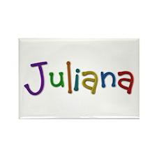 Juliana Play Clay Rectangle Magnet