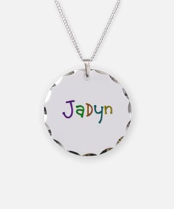 Jadyn Play Clay Necklace Circle Charm
