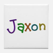 Jaxon Play Clay Tile Coaster