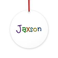 Jaxson Play Clay Round Ornament