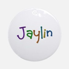 Jaylin Play Clay Round Ornament