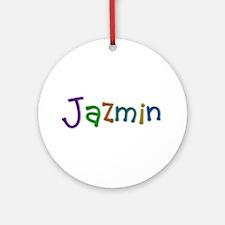 Jazmin Play Clay Round Ornament